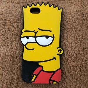 bart simpson case for iphone 6/6s